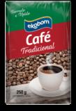 Café Tradicional Torrado e Moído Ekobom 250g (vácuo)