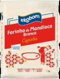 Farinha de mandioca branca Ekobom 1Kg