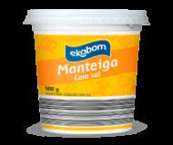 Manteiga Comum com Sal Ekobom 500g