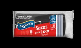 Saco para lixo Ekobom 100L (reforçado)