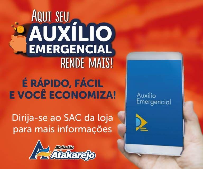 Banner Auxílio emergencial