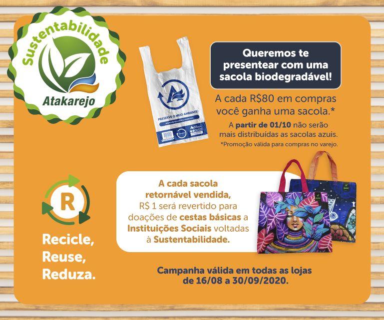 Banner Campanha Sustentabilidade