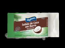 Sabão de Coco em Barra Ekobom 1kg (5 unid de 200g)