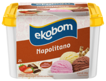 Sorvete Ekobom Napolitano