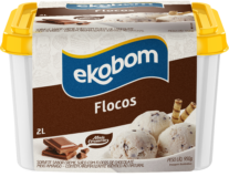 Sorvete Ekobom Flocos