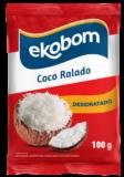 Coco Ralado Desidratado 100g