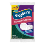 Esponja Multiuso Ekobom Unitária/L4P3
